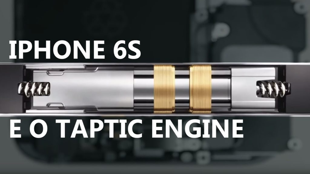 3D Touch si Taptic Engine pe iPhone