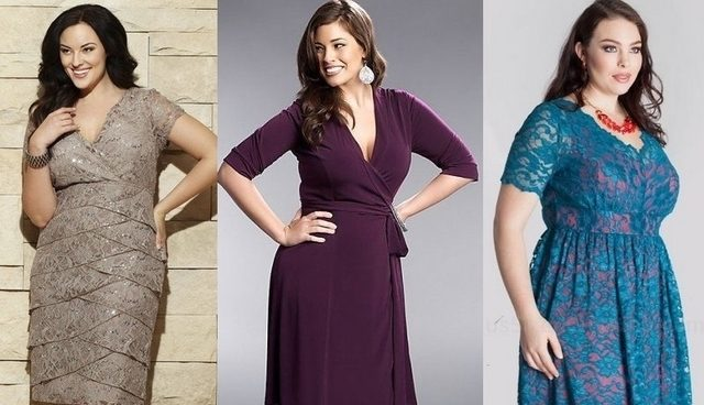 Ce modele de rochii ar trebui sa poarte femeile plinute?